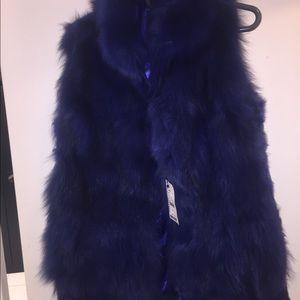 Real fur ladies Vest